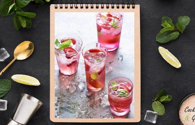 Blendend Sangria Cocktail