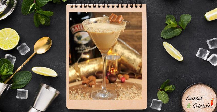 Einfach Salted Caramel Martini