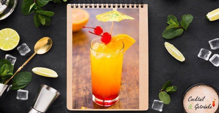 Einfach Tequila Sunrise Rezept