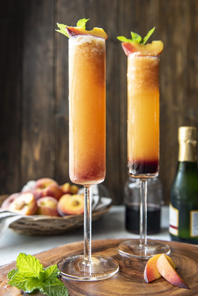 INTENSIV PEACH BELLINI COCKTAIL