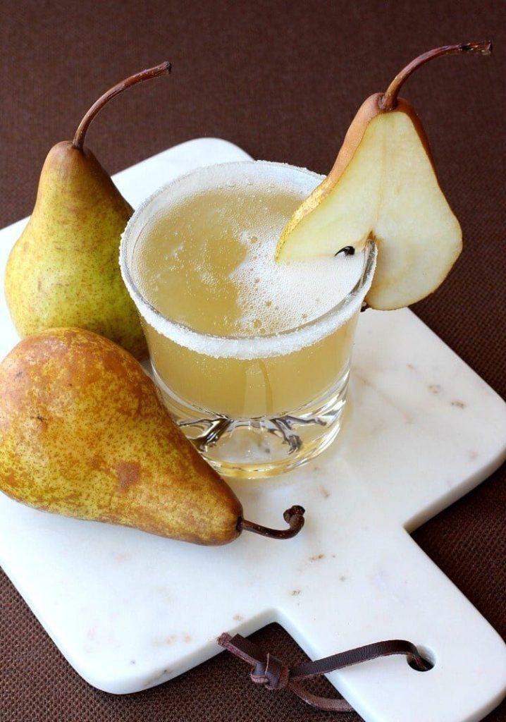 Pear Brandy Cocktail