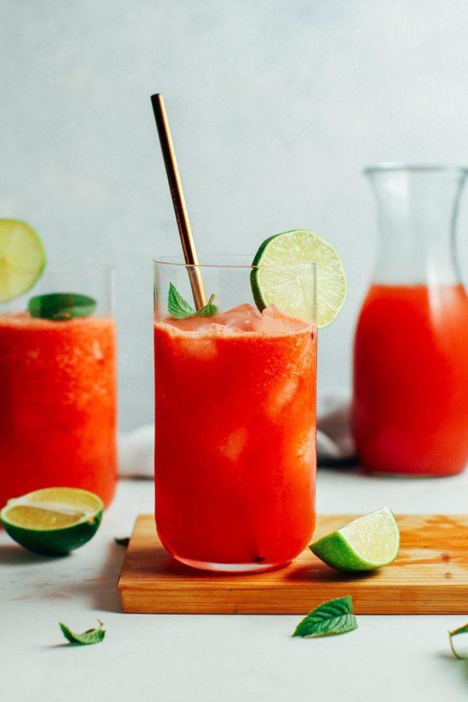 Wassermelone Wodka