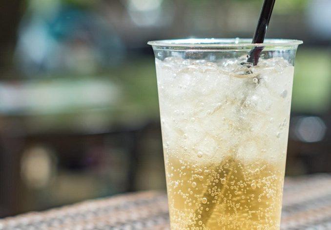 Alkoholfreier Cocktail Mit Ginger Ale
