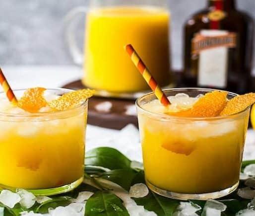 Cocktail Mit Orangensaft
