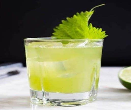 Grüner Alkoholfreier Cocktail