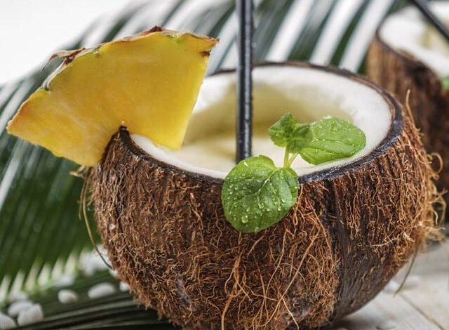 Kokosmilch Cocktail