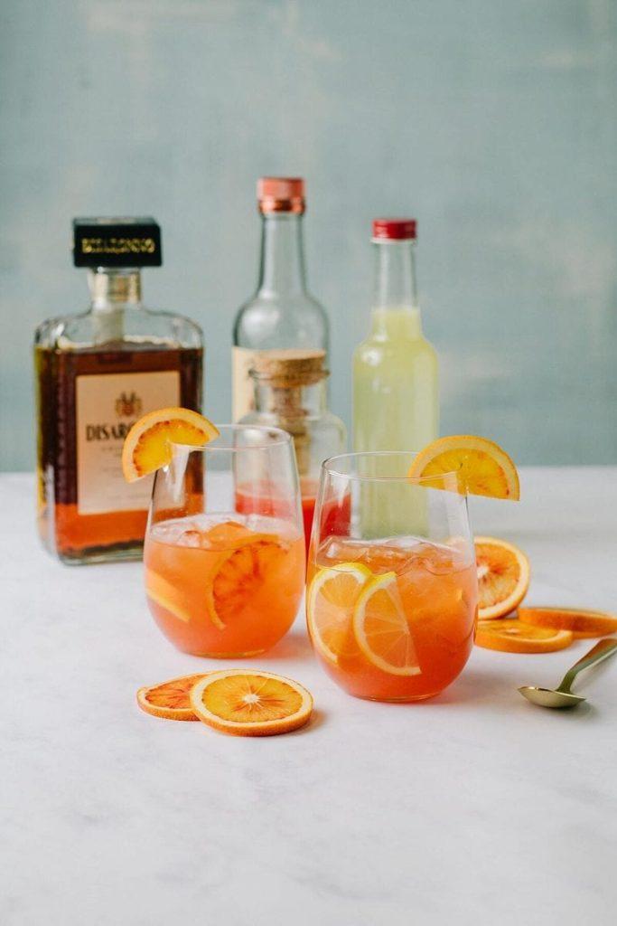 Orange Ameretto Cocktail