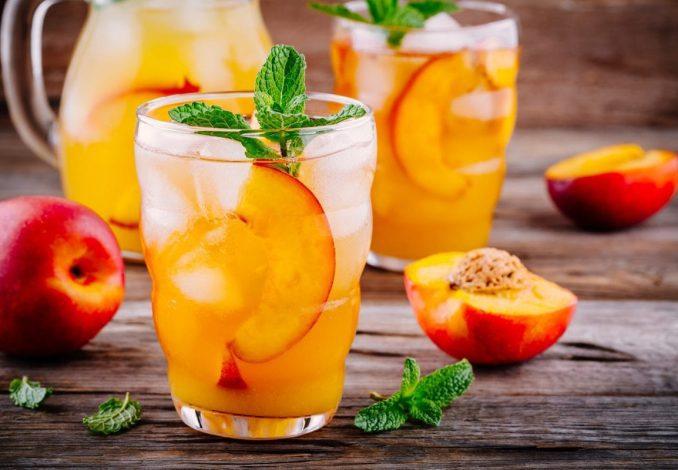 Pfirsich Cocktail