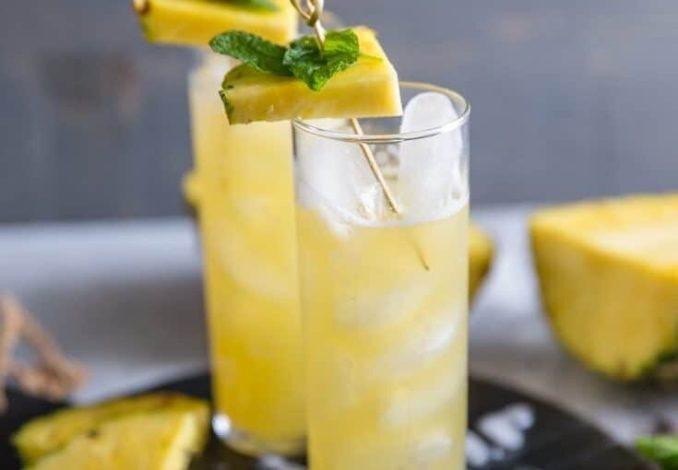 Vanille-Wodka-Cocktail