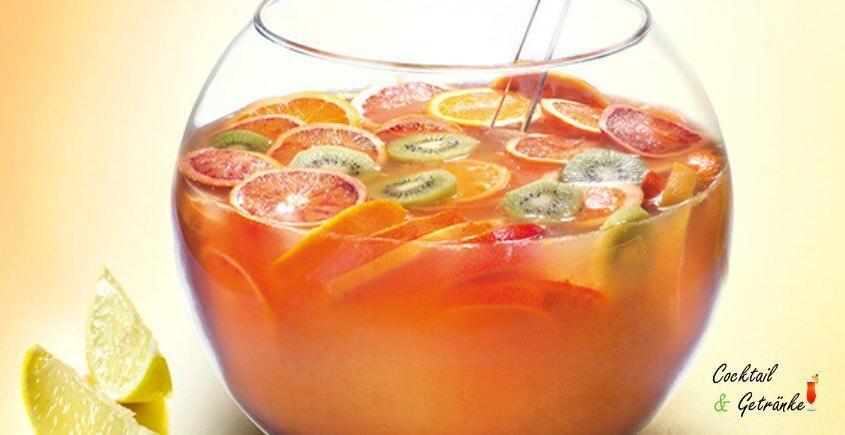 Alkoholfreier Punsch Rezept