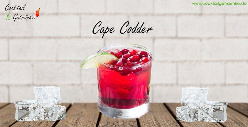 Cape Codder Cocktail