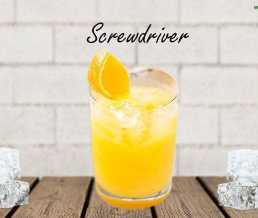 screwdriver cocktail rezept