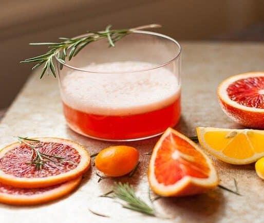 Blood Orange Sgroppino