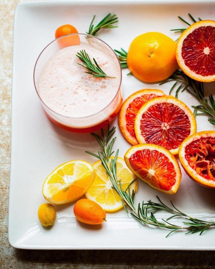 Blood orange sgroppino-1