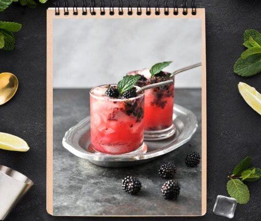 Blackberry Vodka Cocktail