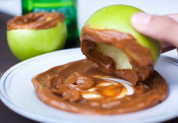 Caramel Apple Spritzers-1