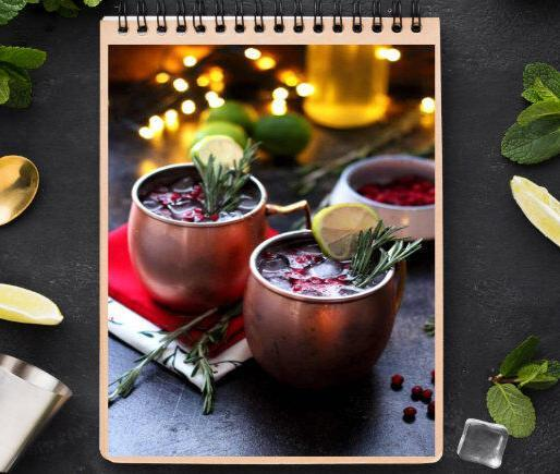 Cramberry Moscow Mules