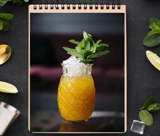 Golden Roots Cocktail