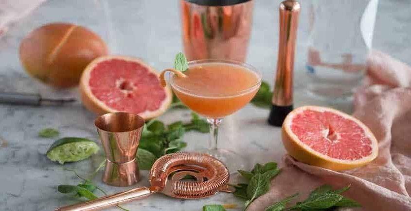 Grapefruit Mojitos