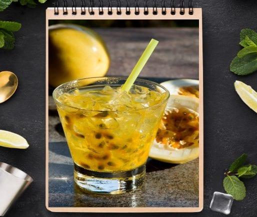 Passion Fruit Cocktail