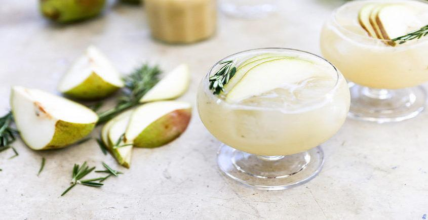 Pear Gin Cocktail