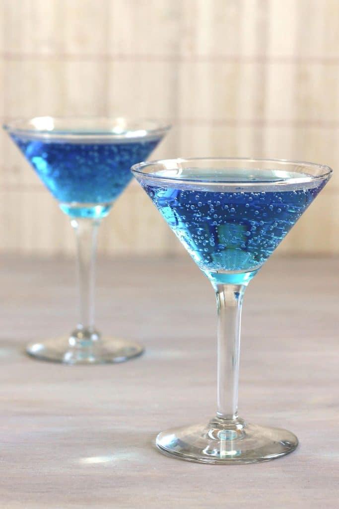 Blue Shoe Mocktail
