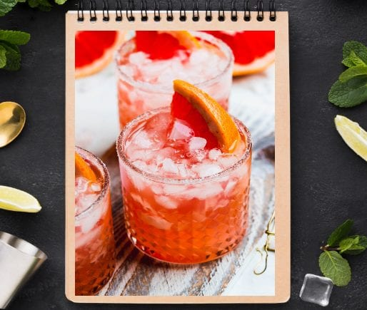 Champagne Grapefruit Punch