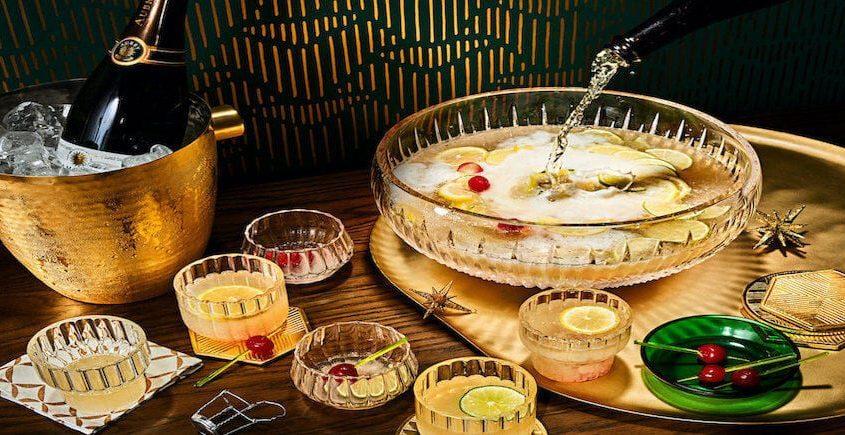 Citrus Champagne Punch