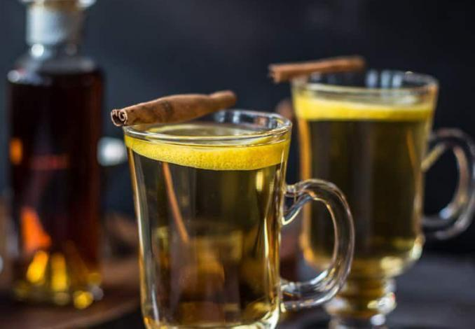 Classic Hot Toddy With Cognac