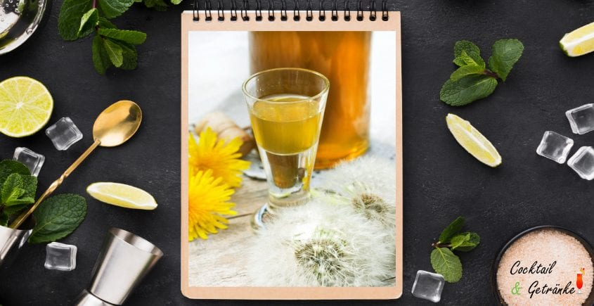 Dandelion Liqueur