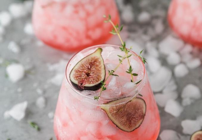 Fig Thyme Cocktail