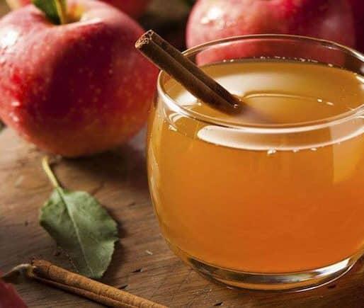Ginger Cinnamon Cider Mocktail