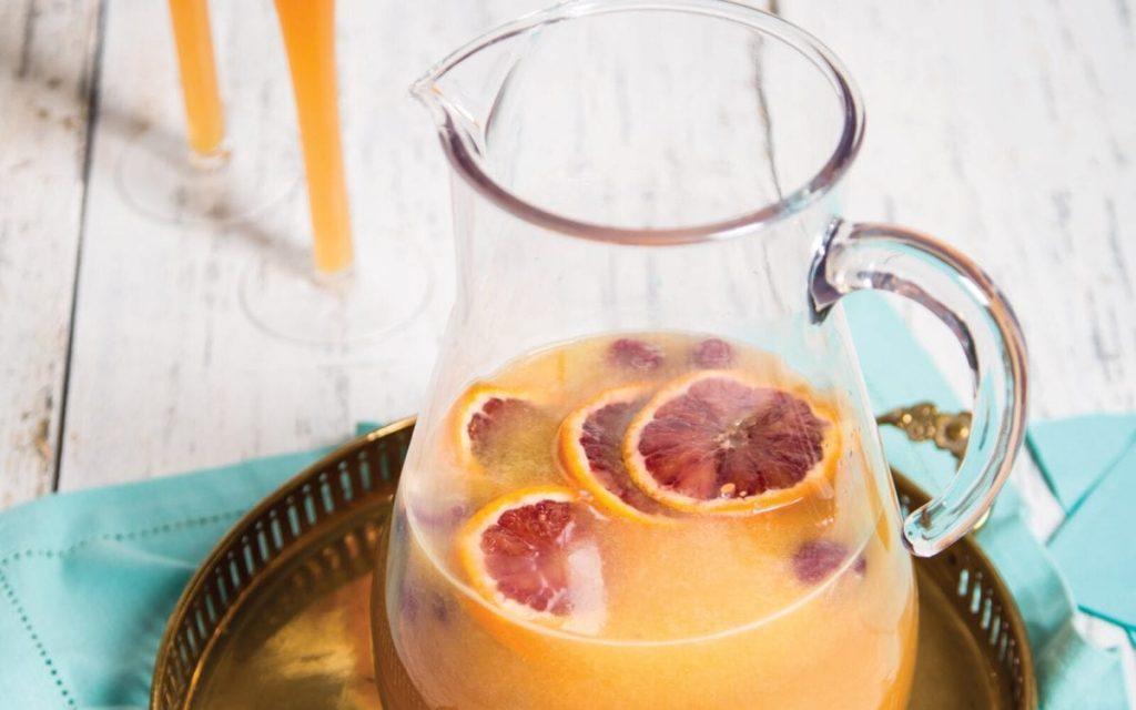 Ginger Kombucha Mimosa