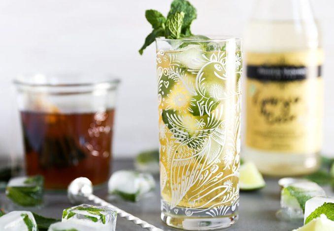 Ginger Tea Cocktail