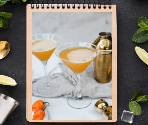 Habanero Passionfruit Martinis-2