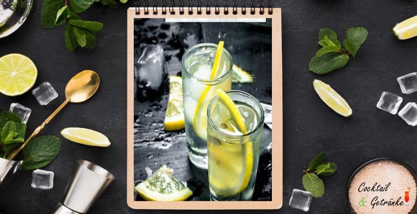 Homemade Lemon Infused
