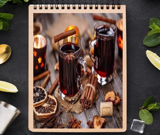 Mulled Wine With Cognac