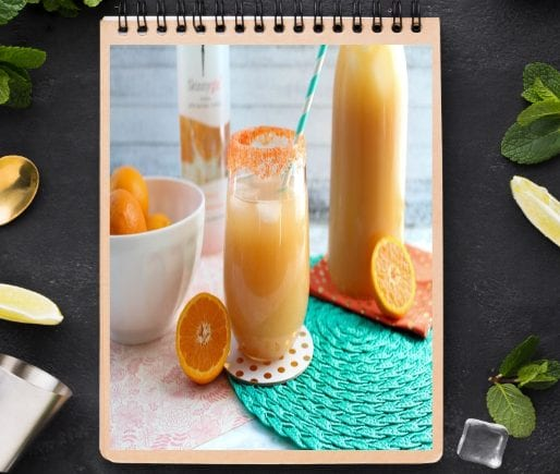 Orange Champagne Punch