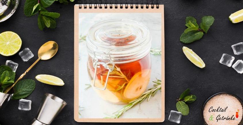 Pear and Rosemary Infudes Vodka