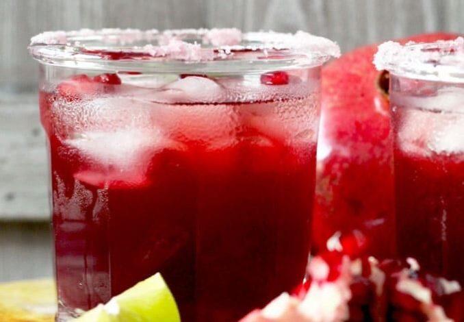 Pomegranate Margarita-1