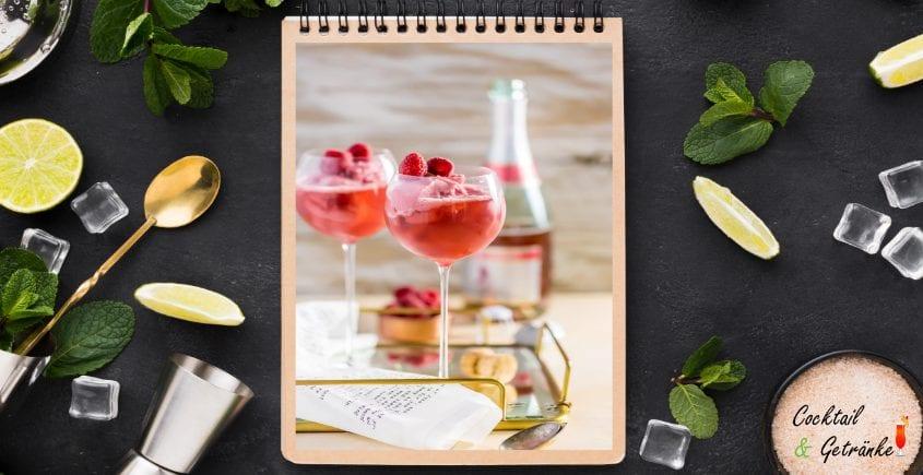 Raspberry Float Mimosa