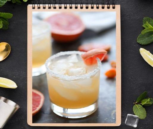Spicy Grapefruit Margarita-1