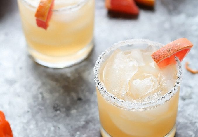 Spicy Grapefruit Margarita-1