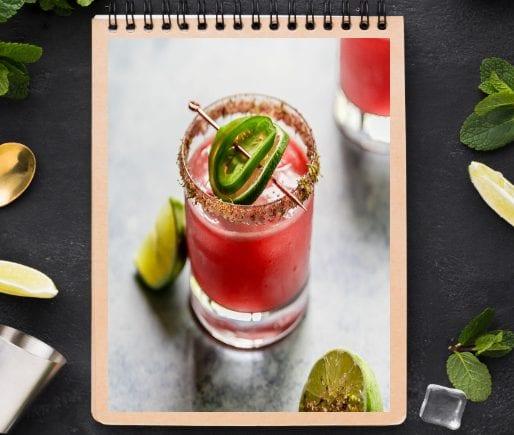 Spicy Watermelon Margarita