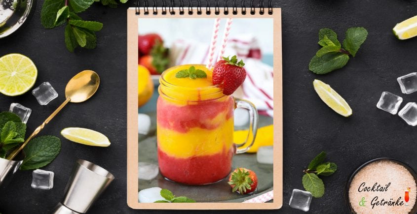 Strawberry Mango Mocktail