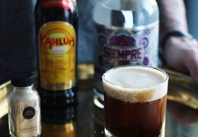 Tequila Espresso Martini Cocktail