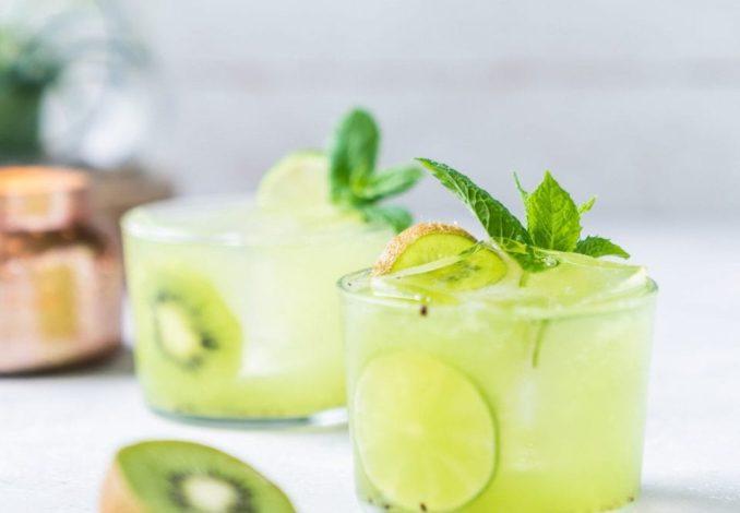 Tequila Kiwi Cocktail