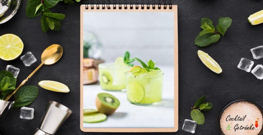 Tequila Kiwi Cocktail-2