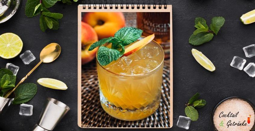 Whisky Peach Cocktail