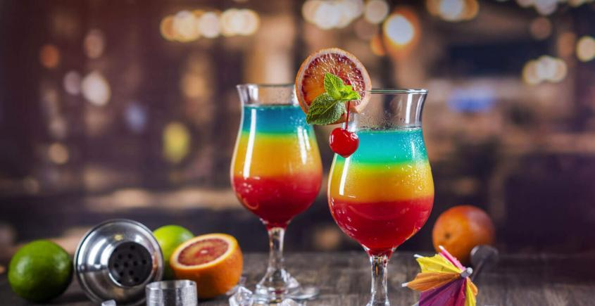 Rainbow Cocktail